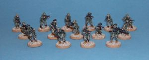 28mm US Regular Army Troops